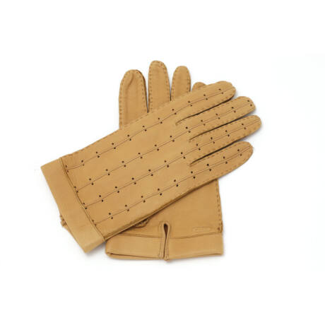 Men's deerskin leather driving gloves