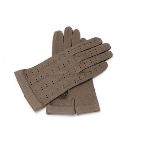Men's deerskin leather unlined gloves