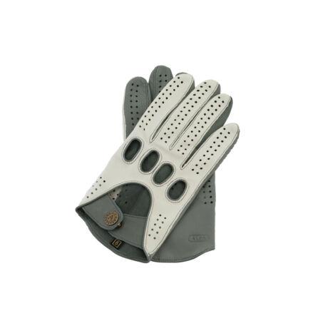Men's Hairsheep Leather Driving Gloves BONE-GREY