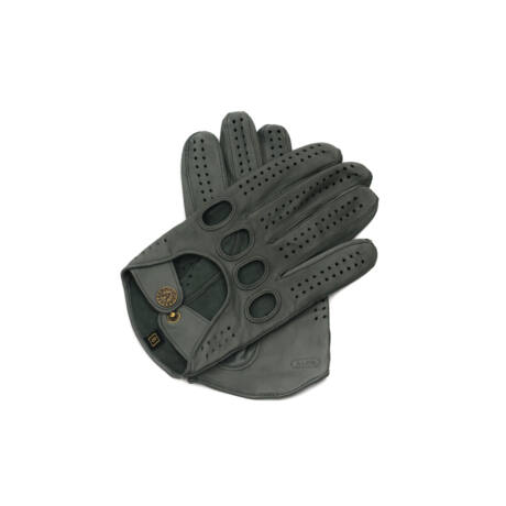 Men's Hairsheep Leather Driving Gloves GREY