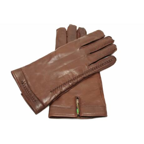 Men's hairsheep leather gloves lined with wool