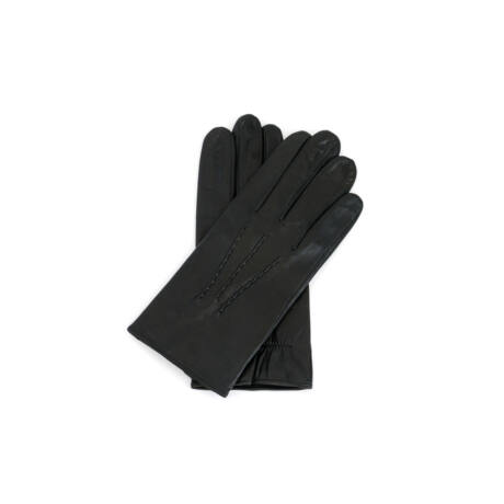 Women's hairsheep leather gloves lined with silk