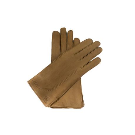 Women's deerskin leather wool lined gloves