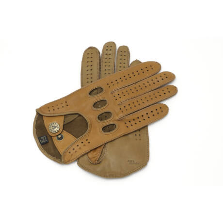 Women's hairsheep leather driving gloves NAVAHO-TAN