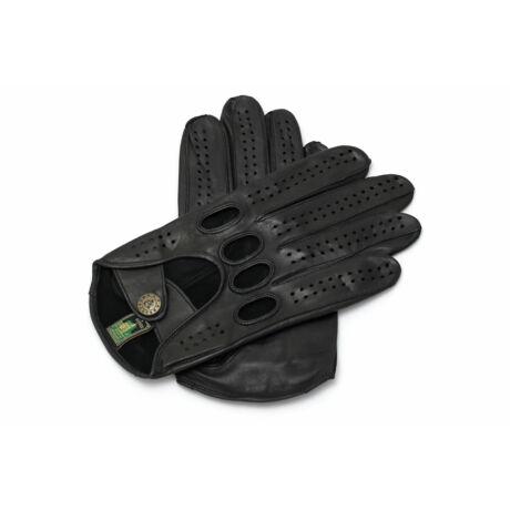 Women's hairsheep leather driving gloves BLACK