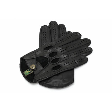 Women's hairsheep leather driving gloves BLACK