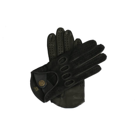 Women's driving gloves BLACK