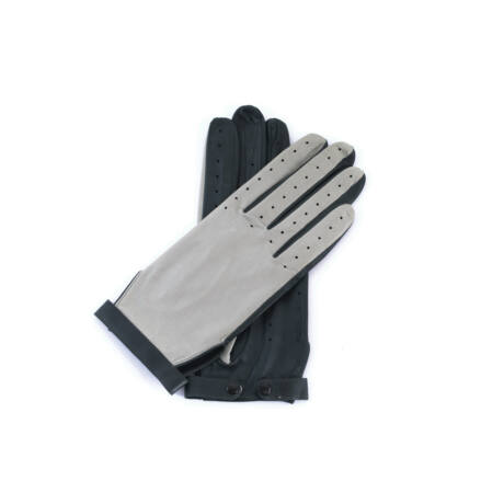 Women's hairsheep leaher unlined gloves GREY