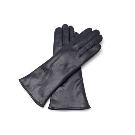 Women's hairsheep leather gloves lined with wool