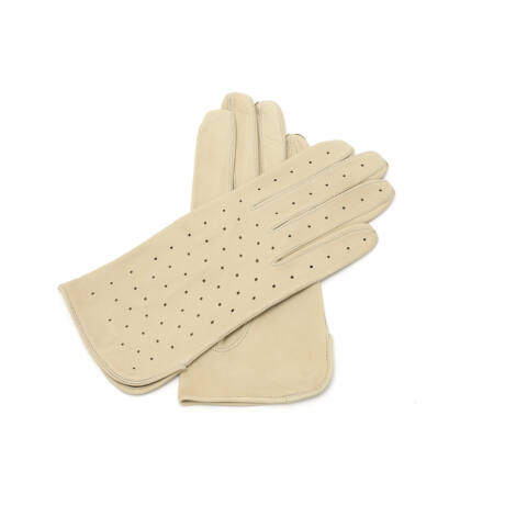 Women's unlined leather gloves SAND