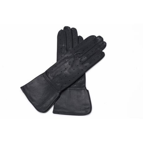 Women's unlined leather gloves BLACK