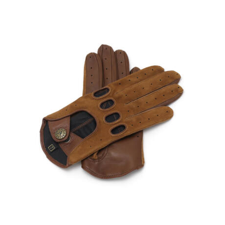 Women's driving gloves COGNAK