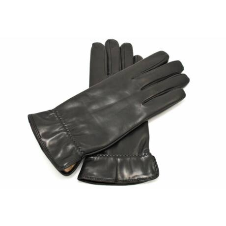 Women's hairsheep leather gloves lined with wool - only size 6.5