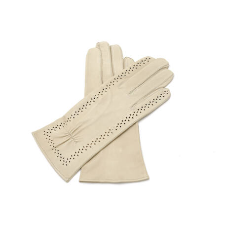 Women's unlined leather gloves NATURE