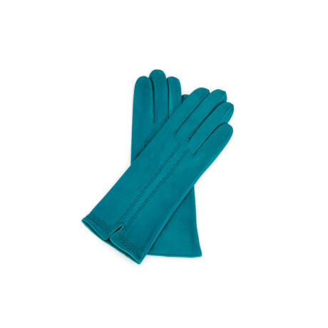 Women's silk lined leather gloves BAY